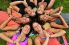 Laughter. Love. Lotus.  Mandala. Circle of Friends. Tribe.
