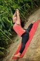 Hoosier yogi's; sunrise yoga fun with my Tribe.